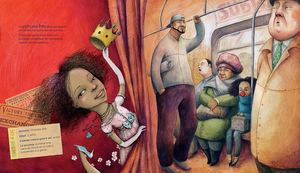 Imagen correspondiente al cuento 'Las princesas más valientes' de Editorial Nubeocho