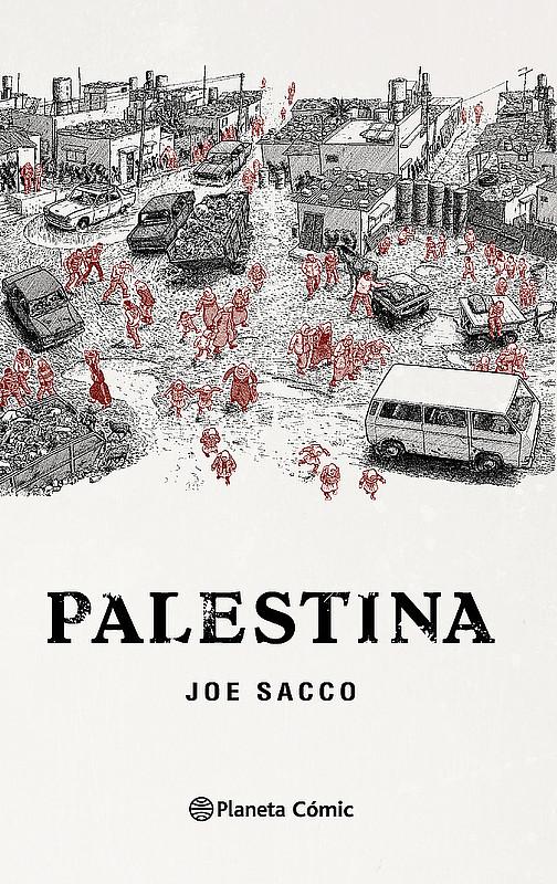 Portada de Palestina ©Joe Sacco